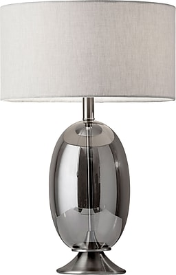 Adesso Incandescent Bailey Table Lamp Steel (1540-22)