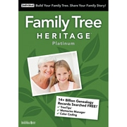 Individual Software Family Tree Heritage Platinum for Windows (1 User) [Download]