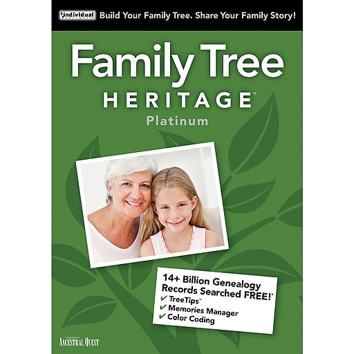 individual software family tree heritage platinum 15 for mac 1 user