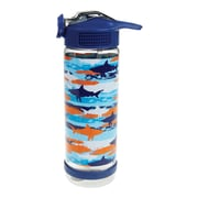 Staples Kids Water bottle, Shark Pattern 23.6 oz (52872)