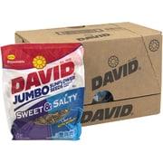 David Jumbo Seeds Sweet and Salty, 5.25 oz, 12 Count