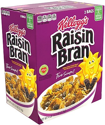 Kellogg's Raisin Bran, 76.5 oz. (370022) 24171879