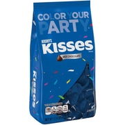 KISSES Milk Chocolates, Blue, 17.6 oz., 2 Pack (10064)