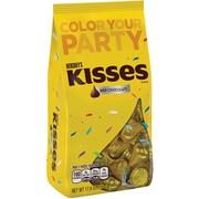 KISSES Milk Chocolates, Yellow, 17.6 oz., 2 Pack (10070)