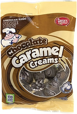 Goetze Caramel Creams Chocolate, 4 oz, 12 Count