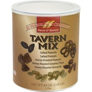 Superior Nut Sweet & Savory Honey Roasted Tavern Mix, 43 oz. (406)