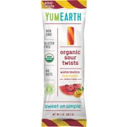YumEarth Organic Sour Twists, 2 oz., 12 Count (1185)