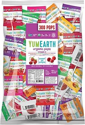 YumEarth Organic Vitamin C Lollipops, 5 lb. (0198)