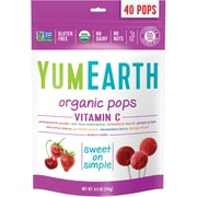 YumEarth Organic Vitamin C Lollipops, 8.5 oz., 3 Pack (1603)