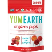 YumEarth Organic Lollipops, 4.2 oz., 4 Pack (1626)