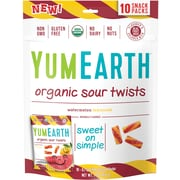 YumEarth Organic Sour Twists, 7 oz., 3 Pack (1174)