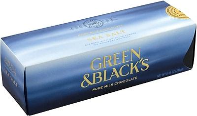 Green & Black's Milk Chocolate Sea Salt, 24 Piece, 8.46 oz. (00057)