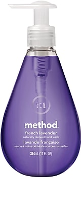 Method Gel Hand Soap, French Lavender, 12 Ounce (00031)