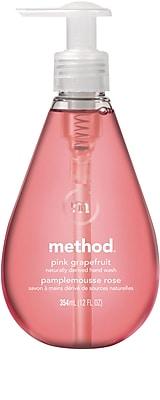 Method Gel Hand Soap, Pink Grapefruit, 12 Ounce (00039)