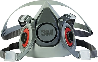 3M™ Halfpiece Respirator, 6000 Series, Reusable, Large