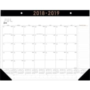 "2018-2019 AT-A-GLANCE® Academic Contemporary Monthly Desk Pad, 12 Months, 22"" x 17"" (AY24X-00-19)"