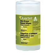 Quartet® BoardWipes™, Whiteboard Cleaning Wipes,70 Ct.