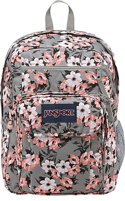 JanSport Digital Student Backpack, Coral Sparkle/Pretty Posey (JS00T69D0JB)