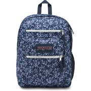 "JanSport Big Student Backpack, 17.5"" x 13"" x 10"", Navy Floral Field (JS00TDN750E)"