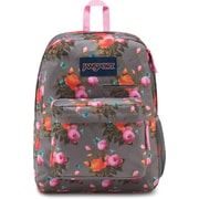 JanSport Digibreak Backpack, Sunrise Bouquet Grey (JS0A3EN24KS)