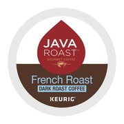 Java Roast® French Roast Coffee, Keurig® K-Cup® Pods, Dark Roast, 24/Box (52966)