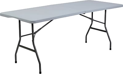Staples 6' Bi-Fold Table