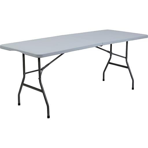 staples 6 bi fold table staples