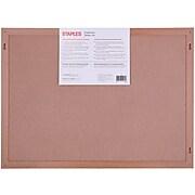 """Staples Chalkboard, Wood Frame, 23""""W x 17""""H (CXM80)"""