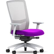 Workplace Series 500 Fabric Task Chair, Amethyst, Integrated Lumbar, 2D Arms, Synchro, Partially Assembled