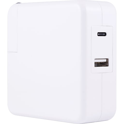 Staples Usb C Usb A Laptop Wall Charger 52344 Us Staples