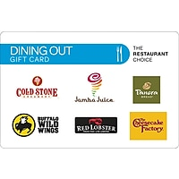 $50 Dining Out Gift Card Deals