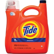 Tide Original Scent HE Turbo Clean Liquid Laundry Detergent, 150 oz, 96 loads