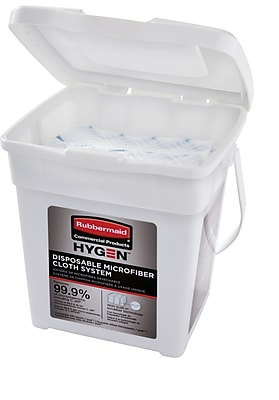Rubbermaid® Hygen™ Disposable Microfiber Charging Tub, 1/Ea