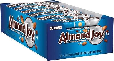 ALMOND JOY Candy Bar, 1.61 Oz., 36/BX (HEC00320)