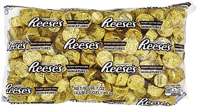 REESE'S Peanut Butter Cups Miniatures, 66.7 Oz. (HEC00093) 1508133