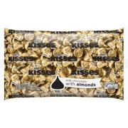 KISSES Milk Chocolates with Almonds, 66.7 Oz. (HEC62083)