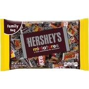 Hershey's Miniatures Chocolate, Variety, 19.75 Oz., 12 Packs/Carton (HEC21421)