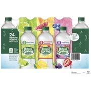 Poland Spring Brand Sparkling Natural Spring Water, Variety Pack 16.9-Ounce Plastic Bottles, 24/Pack (75720-19379)