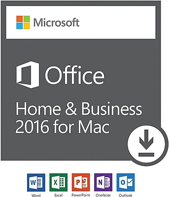 Microsoft Office Home and Business 2016 for Mac, 1 user [Download]