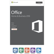 Microsoft Office Home and Business 2016 for Mac, 1 user [Product Key Card]