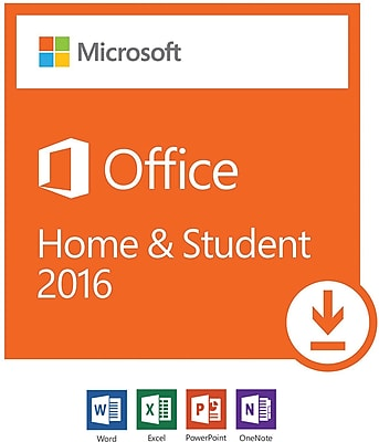 Microsoft Office Home and Student 2016 for Windows, 1 user [Download]