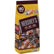 Hershey's Miniatures Assortment, 56 Oz, 180 Pieces (209-00053)