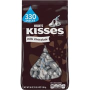 Kisses Chocolate, Milk Chocolate, 56 Oz. (HEC12295)