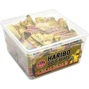 Haribo Gold Gummy Bears Snack-Size Packs, 0.4 Oz, 54 Count (209-00181)