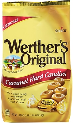 Werther's Original Caramel Hard Candy, 34 Oz (220-00058)