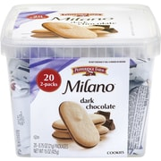 Pepperidge Farm Milano Cookies & Sweets, Dark Chocolate, 0.75 Oz., 20/Pack (220-00088)