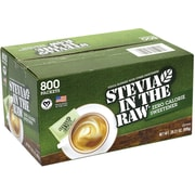 Stevia In The Raw Zero Calorie Sweetener, 800 Packets (220-00441)