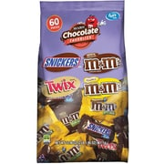 Mars Chocolate Favorites, 60 Piece, 33.90 Oz (225-00033)