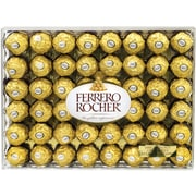 Ferrero Rocher Hazelnut Chocolate Diamond Gift Box, 48 Pieces (241-00015)