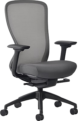 Staples Ayalon Fabric Seat Gargoyle Mesh Task Chair, Gray (V-AYALON-GAR-GY)